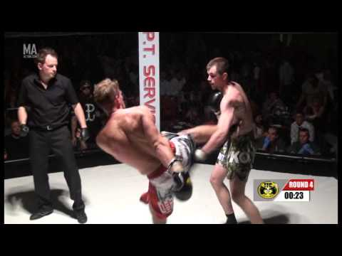Dawid Masel vs Steve Smith - Pro TFC K1 European Title, 8 x 2 min rounds, 78kg