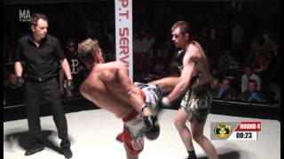 Dawid Masel vs Steve Smith - Pro TFC K1 European Title, 8 x 2 min rounds, 78kg