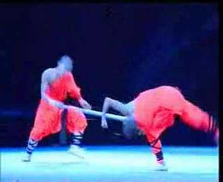 Shaolin Kungfu Demo 12- Three Monkeys Taking Stick By Force
