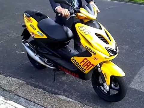 yamaha aerox 50cc limited edition 2004 youtube. Black Bedroom Furniture Sets. Home Design Ideas