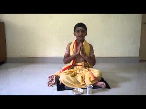 Krishna yajur veda sandhyavandanam telugu