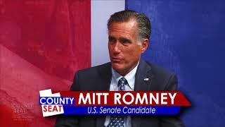 2018 MItt Romney Interview for US Senate