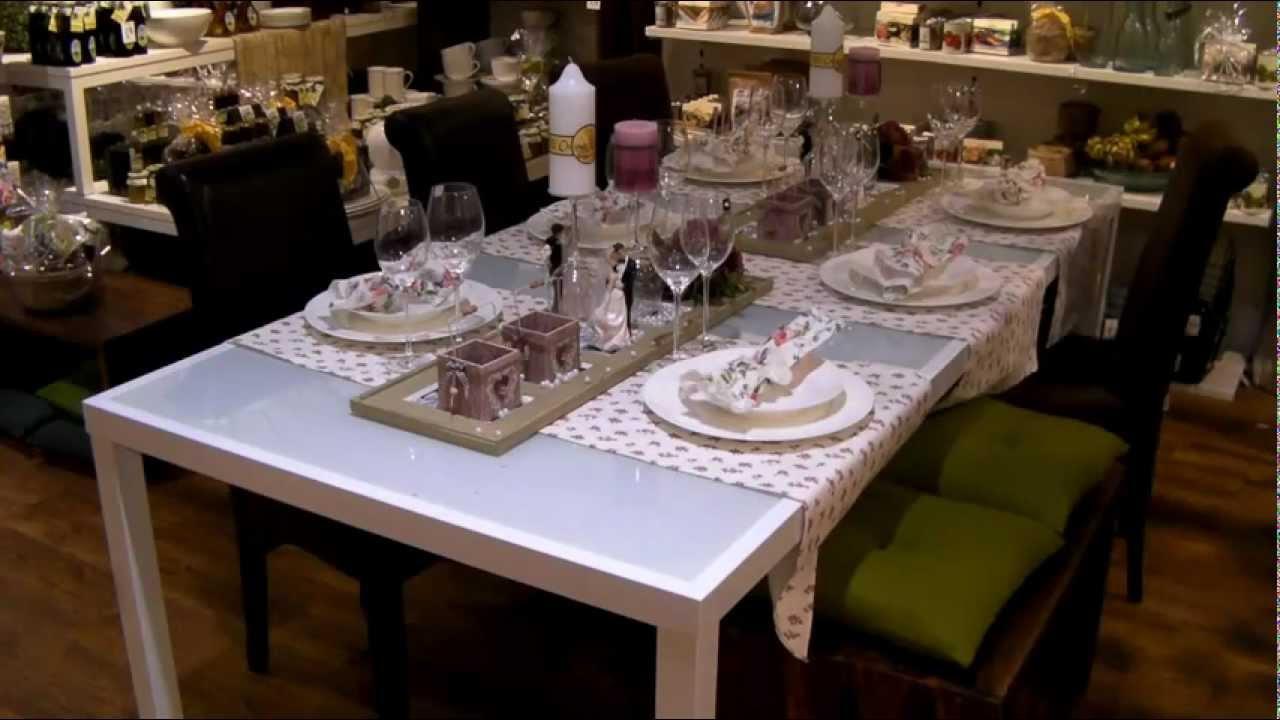 Pfiffige Tischdekoration Hochzeit  YouTube