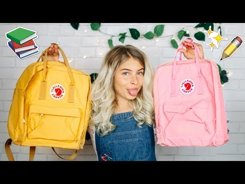 What's In My Backpack 2017-2018 + Fjallraven Kanken GIVEAWAY!! (CLOSED)