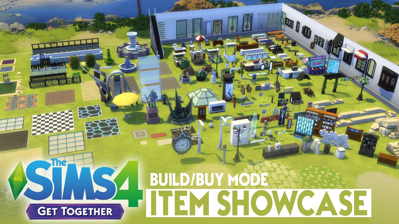 Sims  Get To Work Build Mode Items