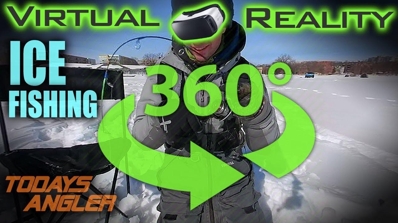 Virtual reality ice fishing todays angler youtube for Virtual reality fishing