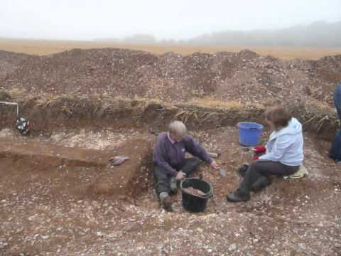 Nunburnholme, A Community Heritage Project - The Last Day Of The Dig In The Area Of The Ring Ditch
