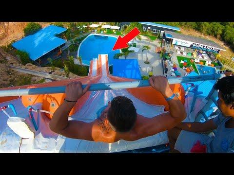 Slip n Fly  Thailand | Fail 20m  | High Park Koh Samui | Max Moreno