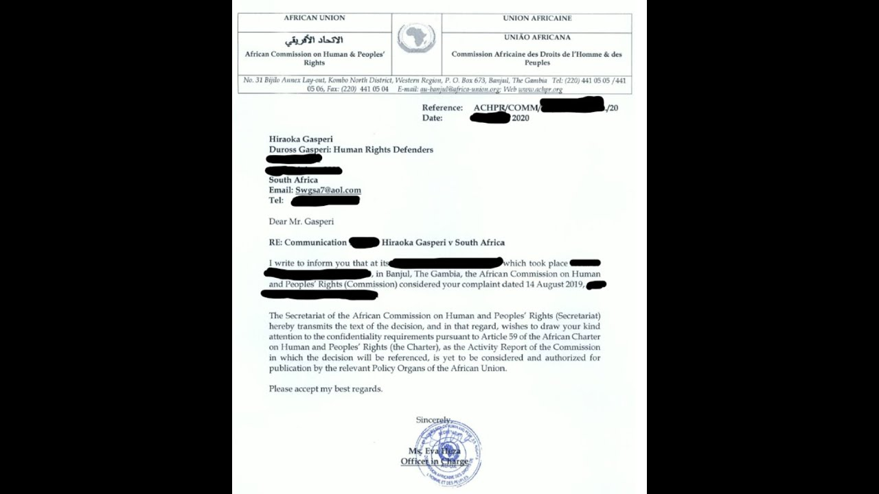The Truth of filings on EWC & Statement from myself and HRD