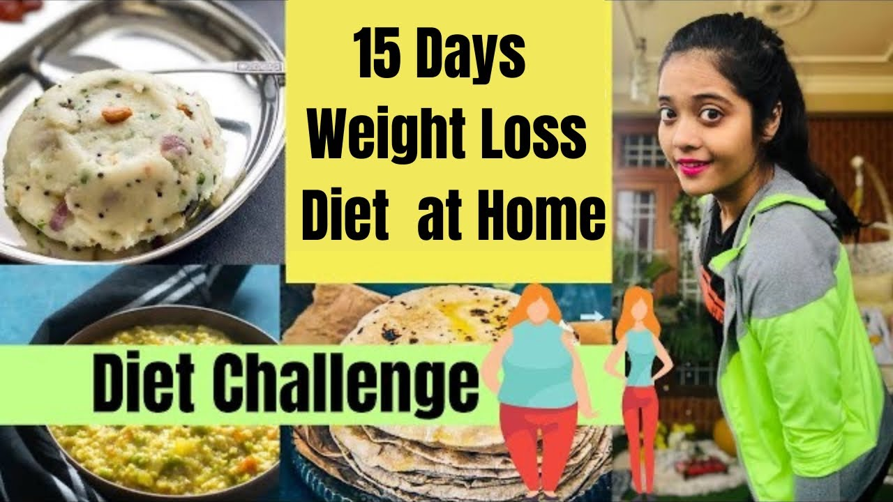 15 Days Weight Loss Diet Challenge | Lose 5 kgs Fast at Home | Somya Luhadia
