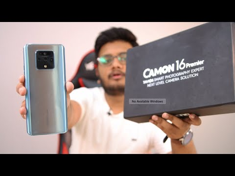TECNO Camon 16 Premiere Exclusive Unboxing & First Look Review