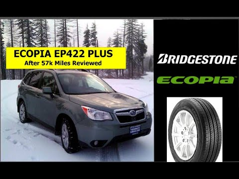Are Bridgestone Ecopia A/S Tires Any Good? 57k Mile Thoughts & Review - Subaru Forester