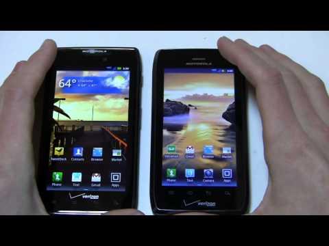 Motorola DROID RAZR MAXX vs. Motorola DROID 4 Dogfight Part 1