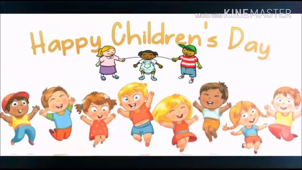 Happy Children Daywisheswhatsapp Statusgreetingssms Youtube