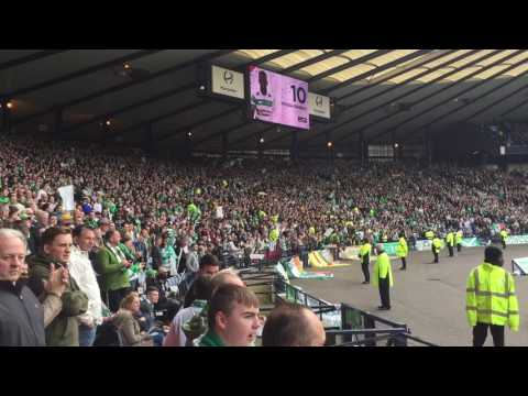 Celtic Fans   Solider Song   Celtic v Rangers*