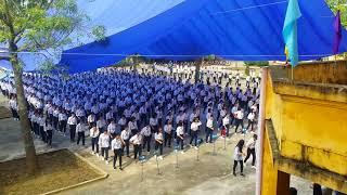 Thầy Hiệu Trưởng cùng các em học sinh nhảy Cha Cha Cha trong ngày khai giảng ❤ THPT Minh Phú