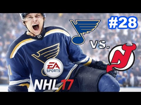 NHL 17 - St. Louis Blues Franchise #28 - Disappointing