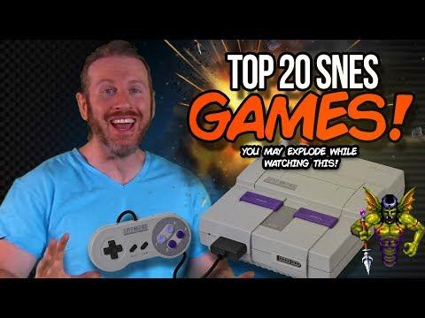Top 20 Super Nintendo Games Part 1!