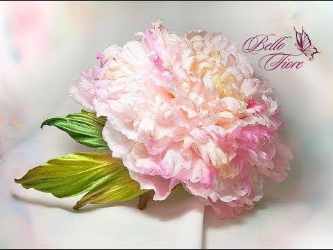 Цветы из шёлка мастер класс