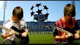 UEFA Champions League Theme Song on Guitar