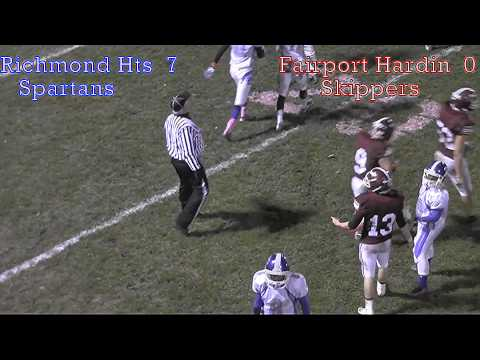 Richmond hts vs Fairport harbor