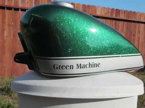 74 camaro synergy green w heavy metallic flakes doovi - How to mix emerald green paint ...