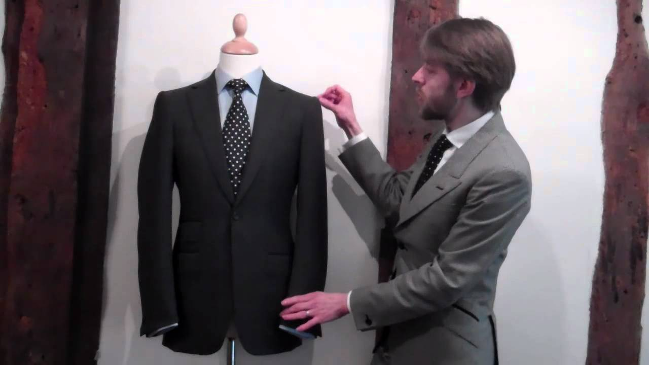 Tailoring House Style - Savile Row Tailor William Westmancott - YouTube