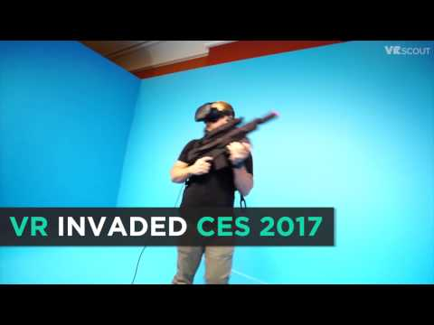 The Year VR Took Over CES 2017