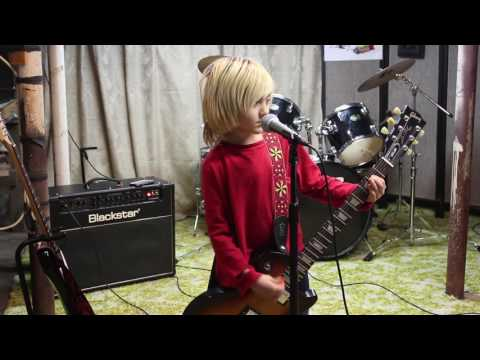Boxcar Racer - Letters to God - Guitar and Vocal Cover by Seven Year Old Lincoln