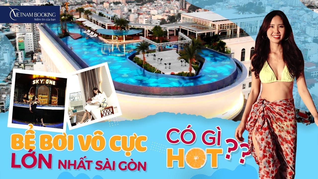 View CHOÁNG NGỢP tại BỂ BƠI CHỌC TRỜI khách sạn LA VELA SÀI GÒN l VIETNAM BOOKING