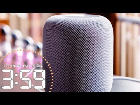 Apple's HomePod gets Siri-ous