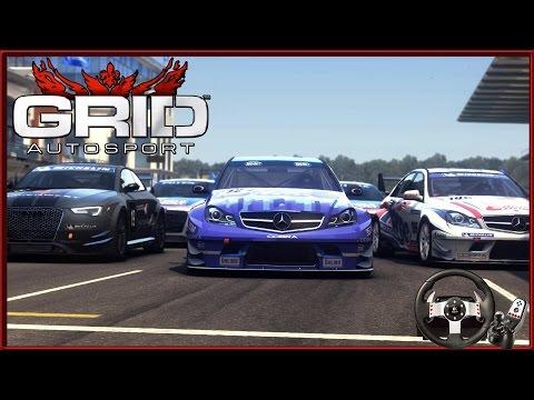 Logitech G27 ile Grid Autosport // Karma Yarış [Bölüm 1]