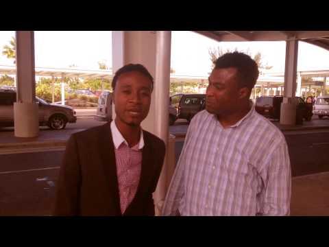 Prince Djecko & TiBob De Nazareth Land in Bahamas