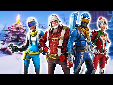 FORTNITE CHRISTMAS UPDATE SQUAD!! (Fortnite Battle Royale)