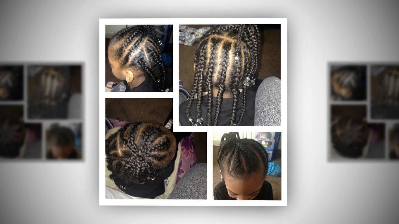 Cleveland Ohio Hair Braiding And Hair Weaving Salon - YouTube