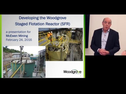 The staged flotation reactor - Glenn Dobby of Woodgrove Technologies
