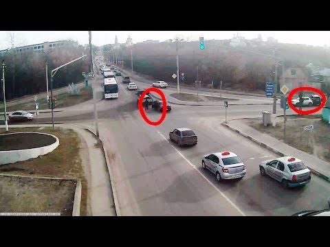 ДТП в Серпухове. Две аварии с разницей в две минуты... 31 марта 2017г.
