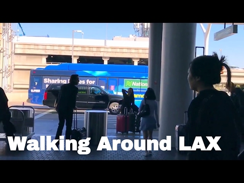 17 Minute LAX Walking Tour in Los Angeles