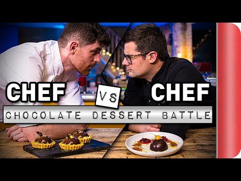 Chef Vs Chef ULTIMATE Chocolate Dessert Battle!!