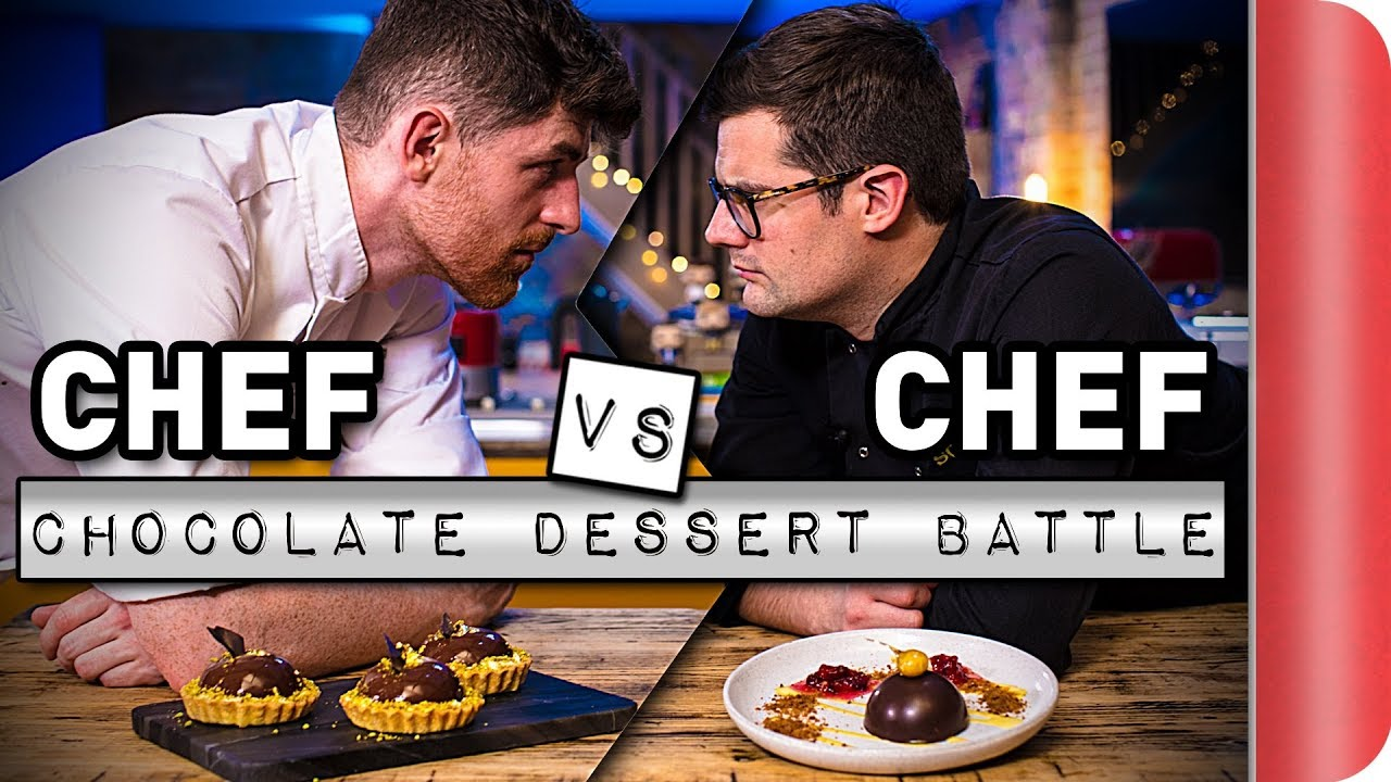 Chef Vs Chef ULTIMATE Chocolate Dessert Battle!!