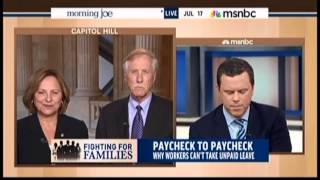 Senators Fischer And King Discuss The Strong Families Act On Msnbc's Morning Joe