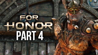 FOR HONOR Walkthrough Part 4 - GUDMUNDR BOSS Chapter 1.6 (Single Player Campaign)