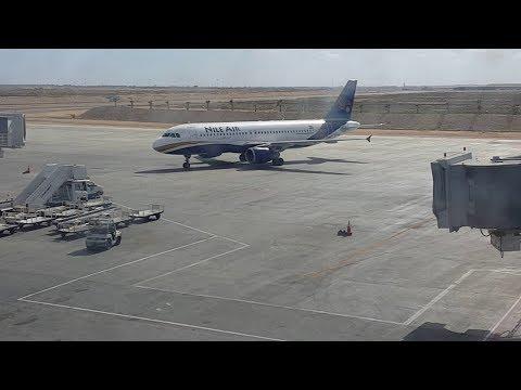 الإقلاع من مطار برج العرب الدولى 2 - Takeoff from Borg El Arab Airport