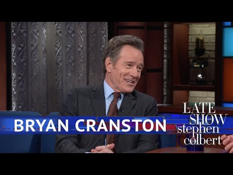 Bryan Cranston Plays With His Real 'Isle Of Dogs' Puppet