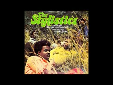 The Stylistics ~ I'm Stone in Love With You  (1972)