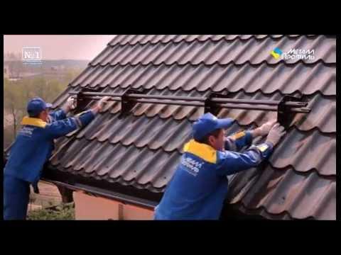 Надёжная защита от непогоды: изучаем тонкости укладки и использования металлочерепицы для крыши