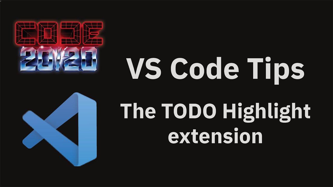 The TODO Highlight extension