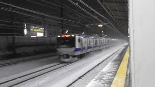 JR常磐線北小金駅JL26 E531系0番台K407+K453編成通過