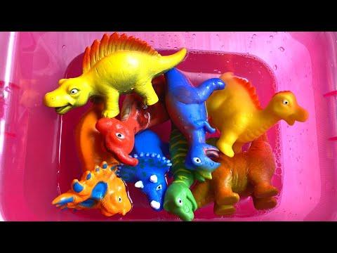 Learn Name and Sound of Dinosaurs ENGLISH. 공룡의 이름과 소리를 배우다 ENGLISH KOREAN.