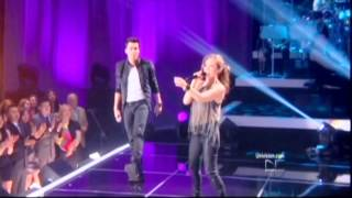 Prince Royce Ft Thalia - Te Perdiste Mi Amor HD - HQ with Captions.